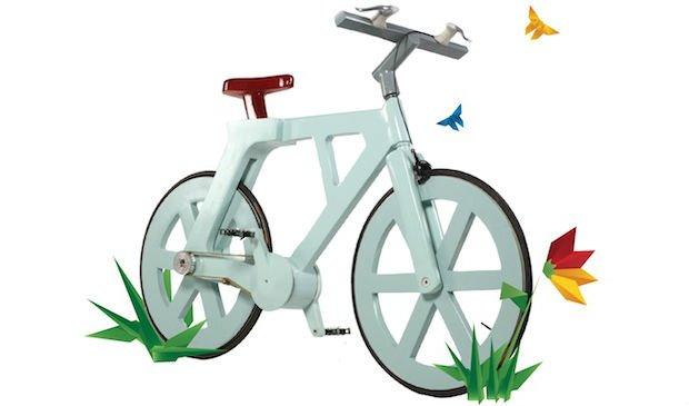 Environment News: Israeli Inventor Seeks Crowdfunding To Put Cardboard Bike On The Streets