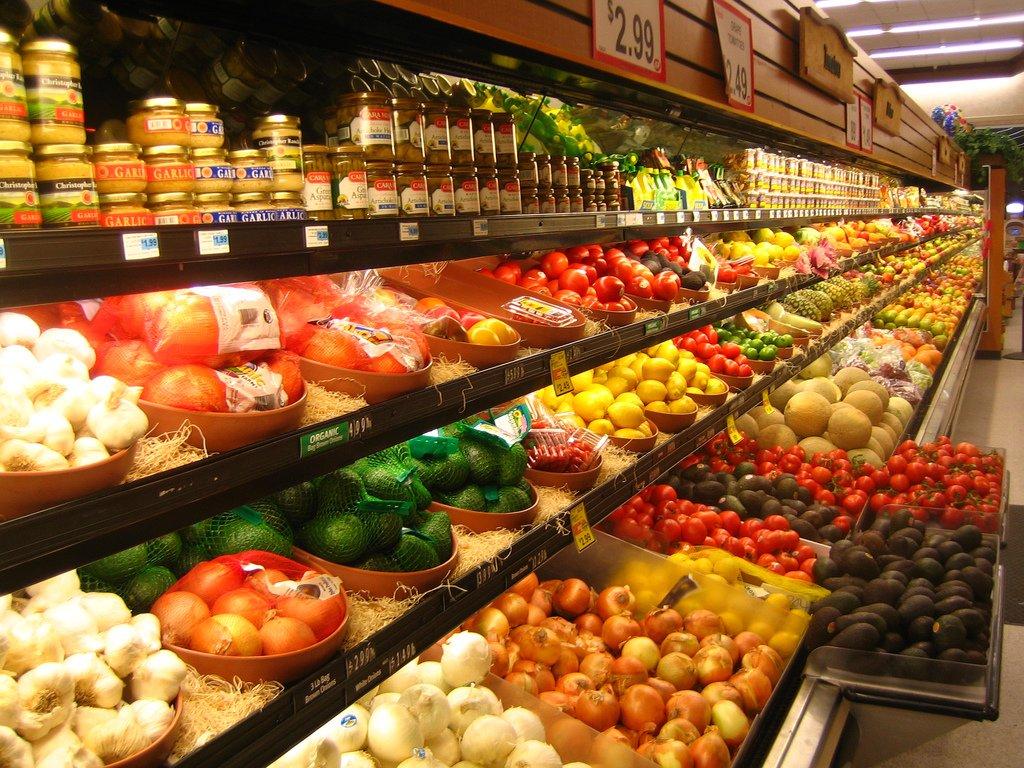 Supermarket Fruits