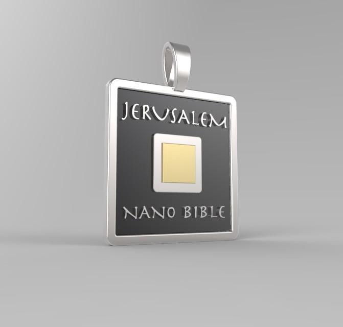 Bible Necklace Nanobible