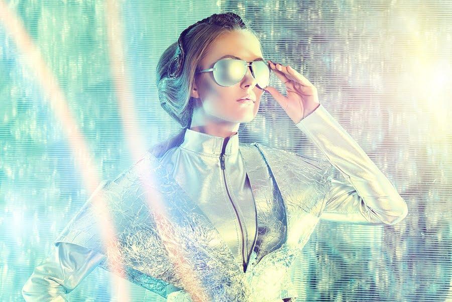 Futuristic Girl via BigStock