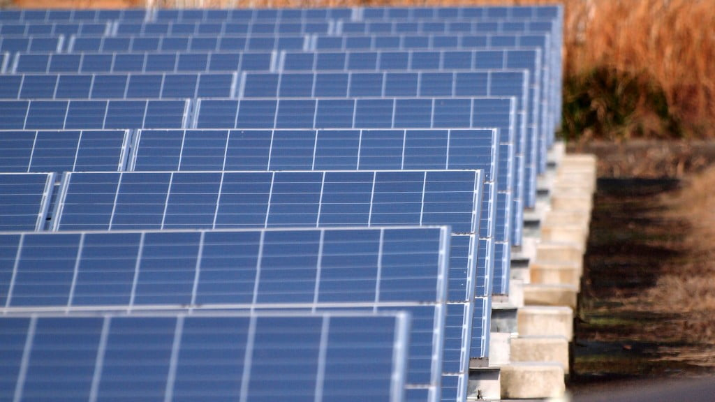 An illustrative photo of solar panels. Photo by ConiferConifer on Flickr