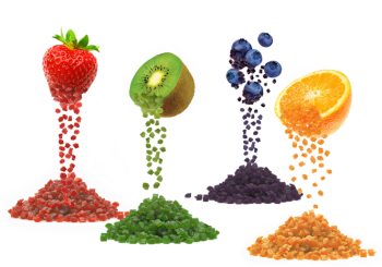 taura natural ingredients fruits flavors. Photo by taura
