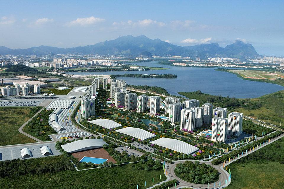 Olympic Village, Rio, Brazil Courtesy