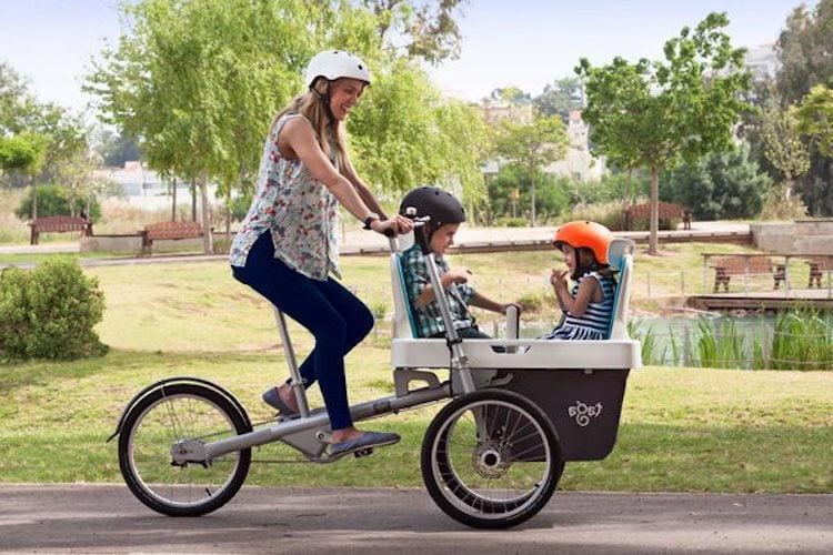 taga 2.0 stroller bike. Courtesy