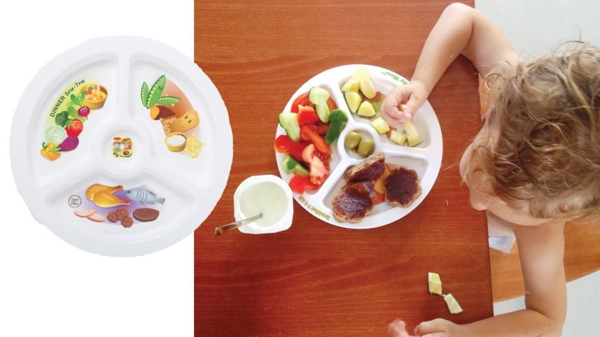 Plate my Meal - Set. Courtesy