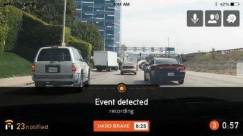 Nexar, car, car accident, warning. Photo by Nexar