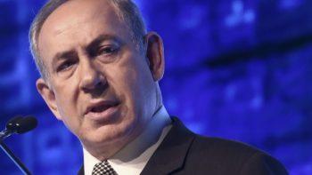 Netanyahu, CyberTech.Courtesy of CyberTech 2017