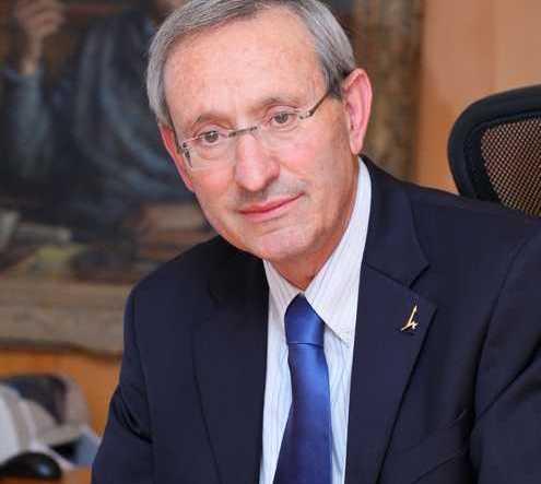 Menahem Ben-Sasson. Courtesy of Hebrew University