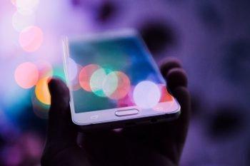 Smartphone via Rodion Kutsaev/Unsplash
