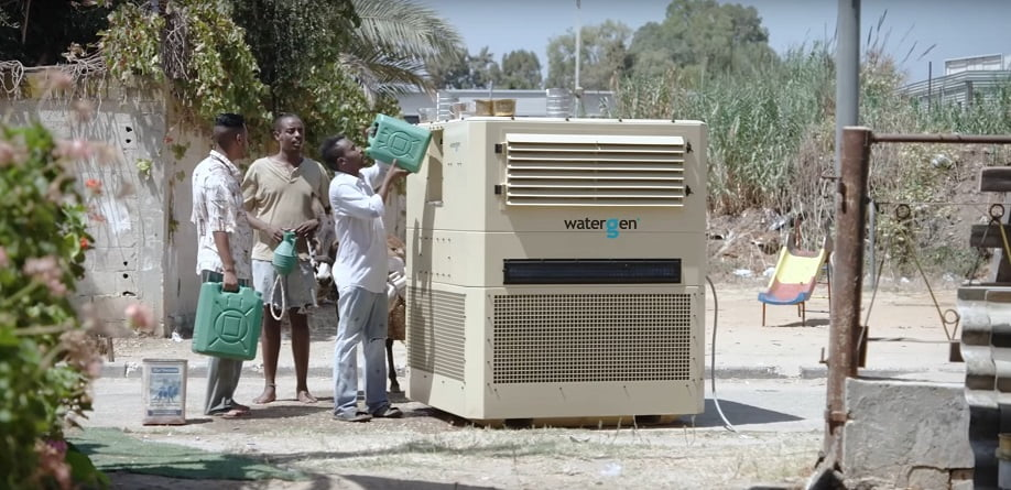 Water-Gen turns air into water (courtesy)