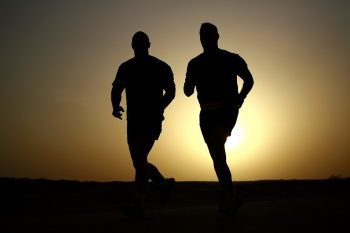 runners, health via Pexels