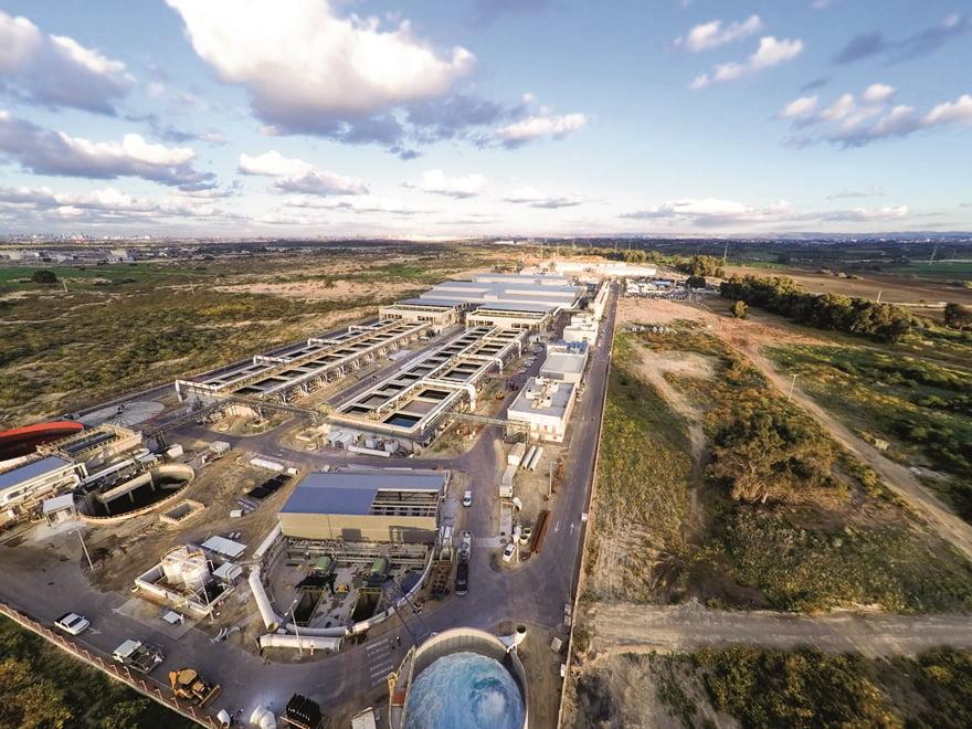 IDE Technologies Sorek Israel plant. Courtesy of IDE Technologies