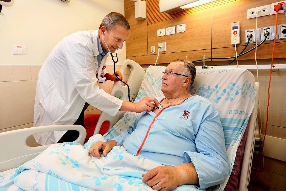 Rambam heart patient implant surgeon doctor (courtesy of rambam)