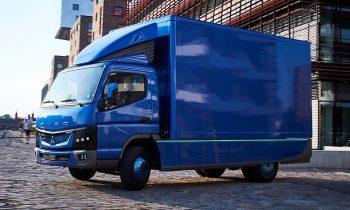Daimler's electric truck - Fuso Canter E-Cell, Courtesy