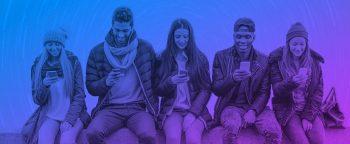 Playbuzz People on Phone. Courtesy