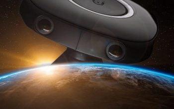 Promotional image of Vuze 3D camera. Courtesy