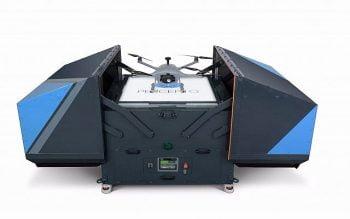 Percepto's Sparrow I drone system: the base station Courtesy
