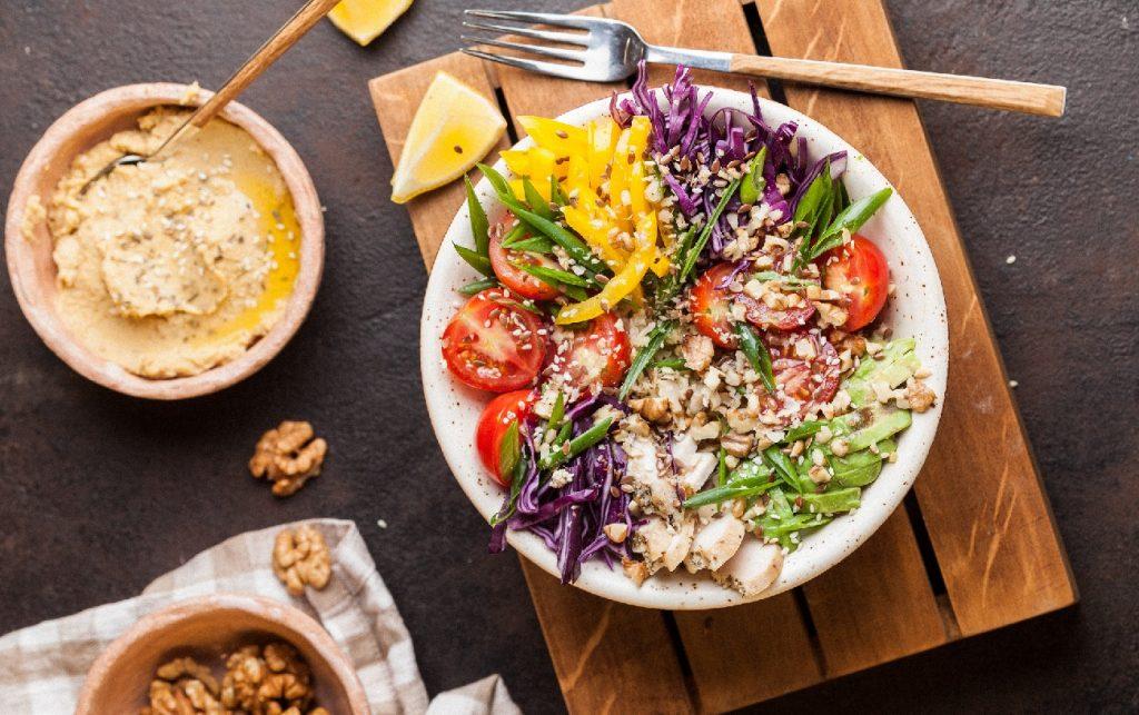 An illustrative photo of a salad. Photo by Mariana Medvedeva on Unsplash