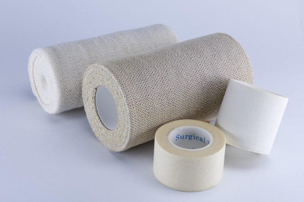 An illustrative photo of bandages.