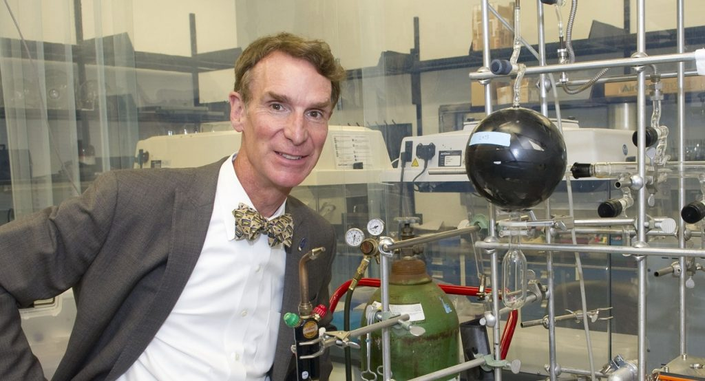 Bill Nye during a tour of Goddard Space Flight Center on September 8, 2011. Photo by NASA/GSFC/Bill Hrybyk on Flickr