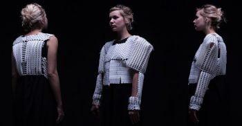 Nitzan KIsh body armor fashion design