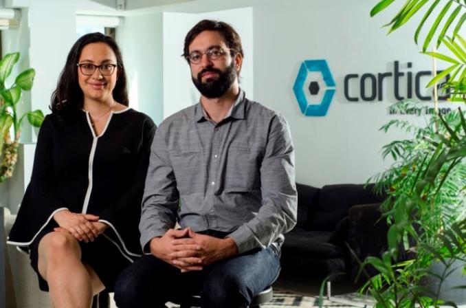 Karina Odinaev and Igal Raichelgauz are both co-founders of Cortica. Courtesy.