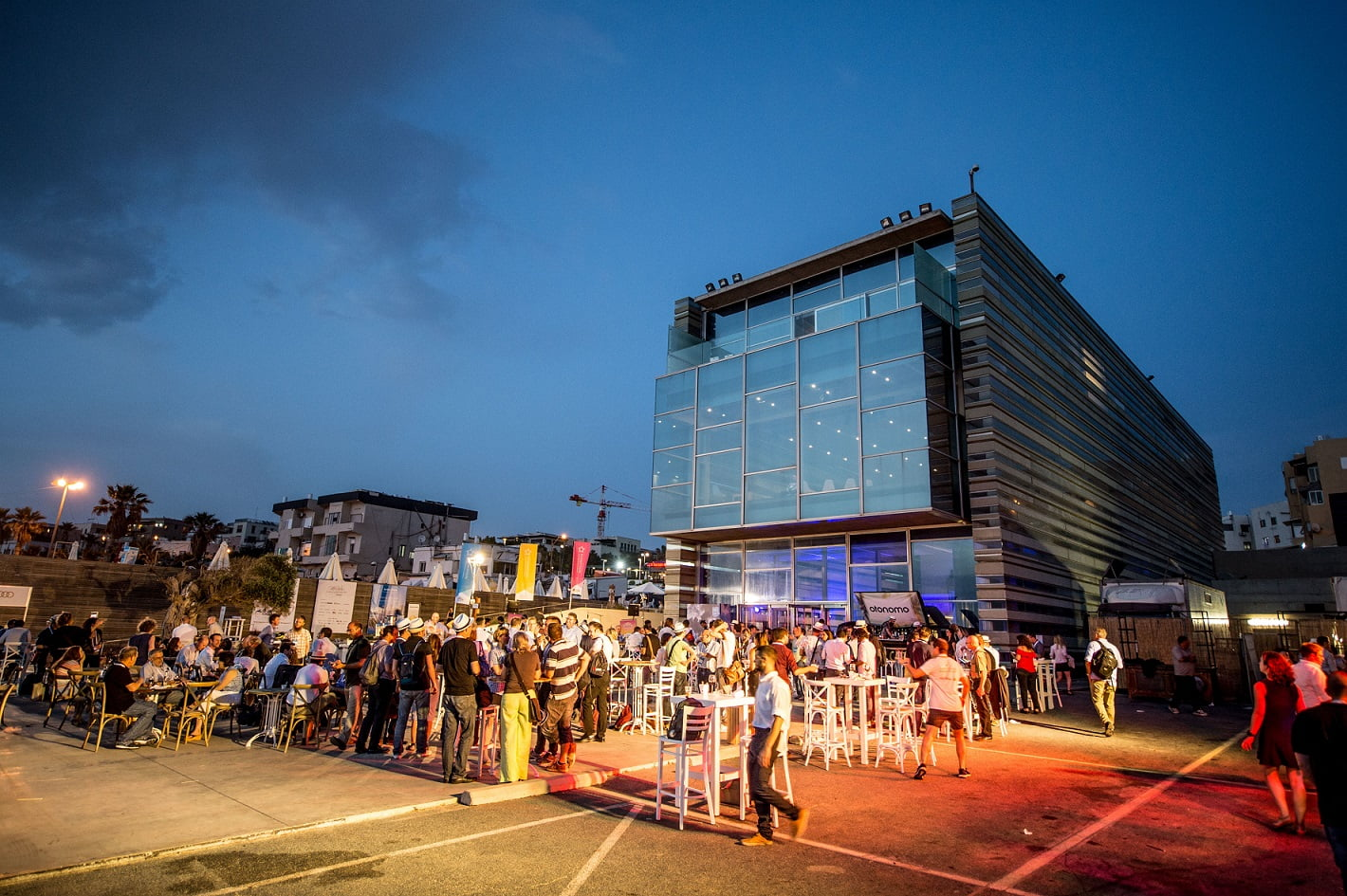 The EcoMotion conference welcomed 3,000 participants from all the world to the Port of Tel Aviv. Photo via Asaf Kliger