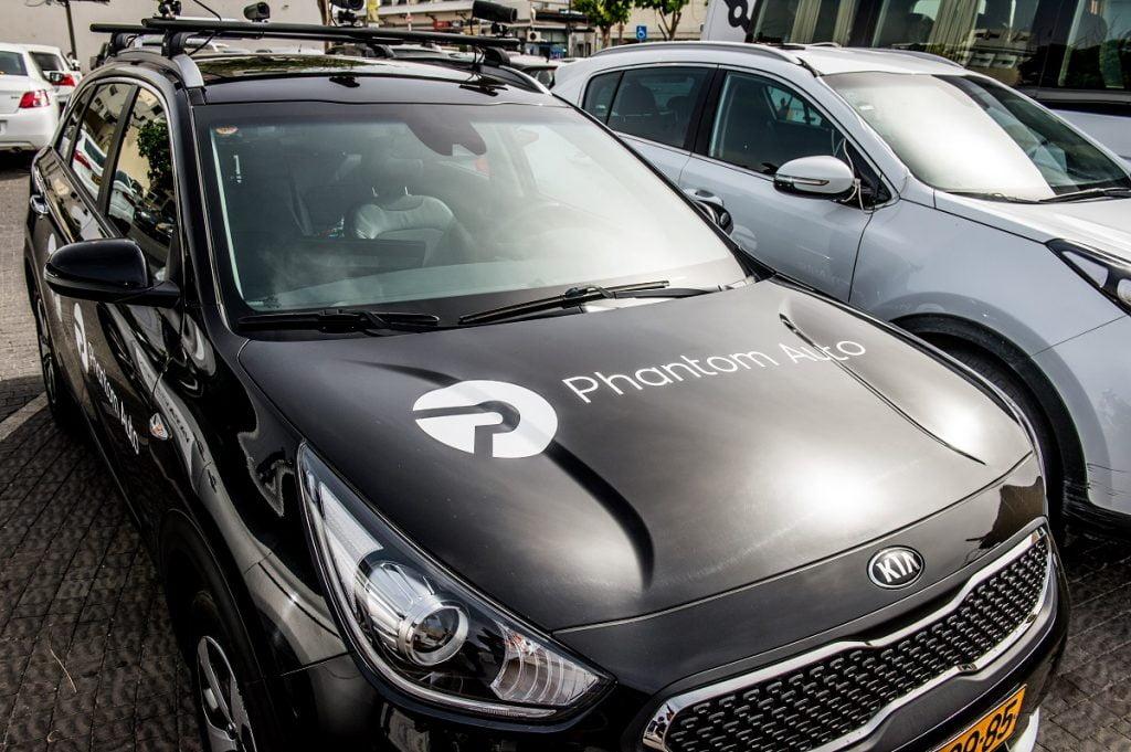 phantom auto demo. Photo by Asaf Kliger