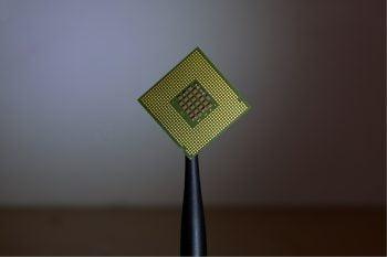 A microchip. Photo by Brian Kostiuk on Unsplash
