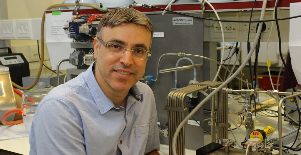 Professor Hossam Haick of the Technion. Photo by Yoav Beher