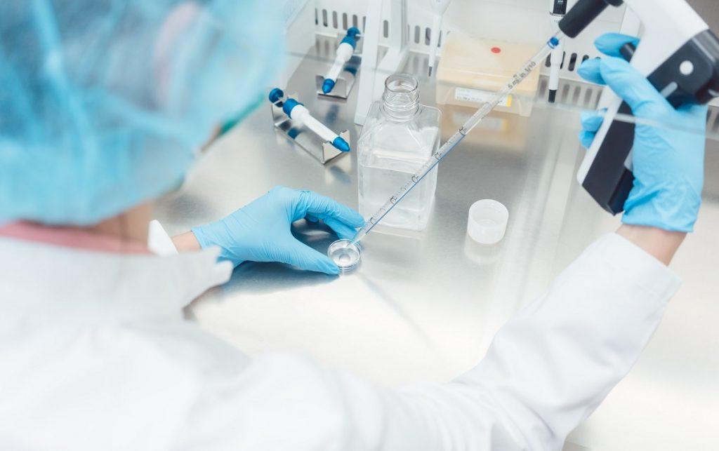 Illustrative: A scientist in a lab. Photo via Deposit Photos