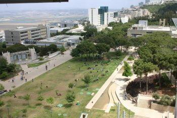 The Technion – Israel Institute of Technology campus in Haifa. Photo via Technion Spokesperson office