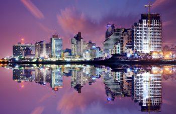 Tel Aviv skyline. Deposit Photos