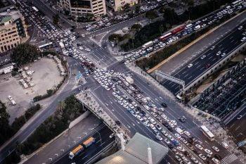 Tel Aviv traffic. Photo by Jens Herrndorff on Unsplash