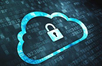 Cloud security concept. Deposit Photos