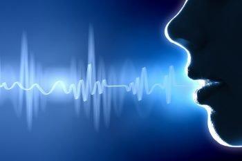 Sound waves illustration. Deposit Photos