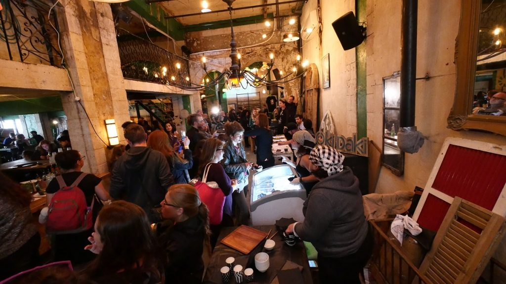 The Black Food Festival at Jaffa's Cuckoo's Nest. Photo by Krisztian Toth/Black Food Festival