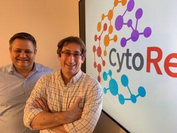 CytoReason's David Harel, left, and Professor Shai Shen-Orr. Courtesy