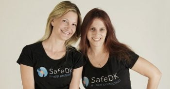 SafeDK co-founders Ronnie-Sternberg, left, and Orly Shoavi, right. Photo via AppLovin
