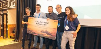 Y-DATA fellows in 2018. Photo by Dudi Atraktzi