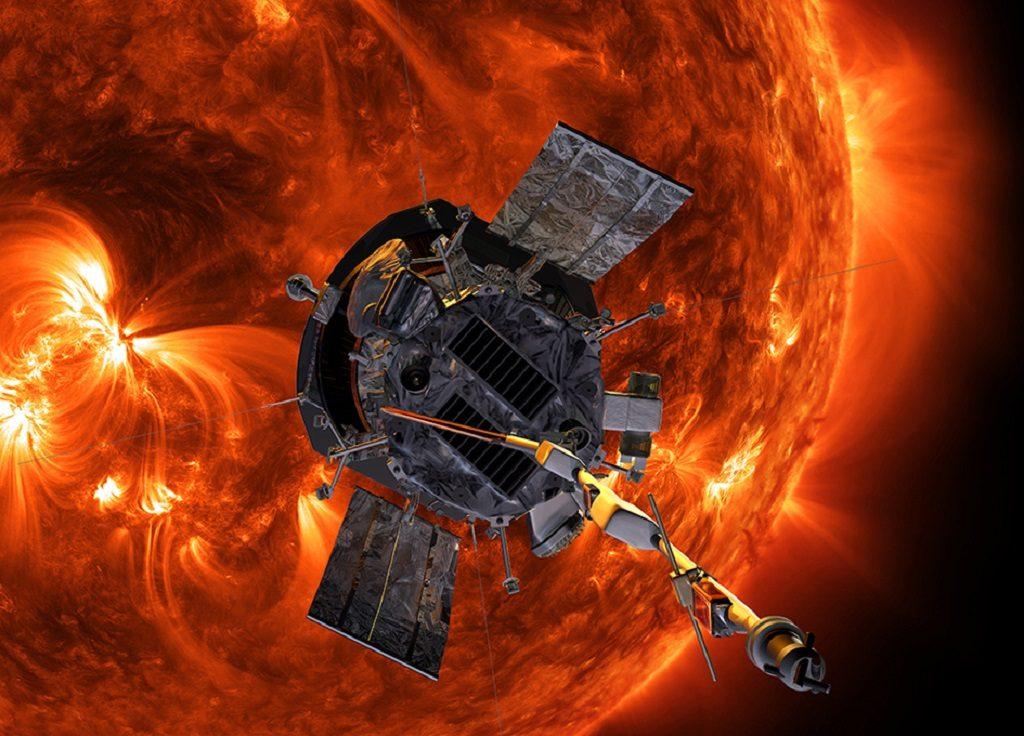 The Parker Solar Probe. Photo via NASA