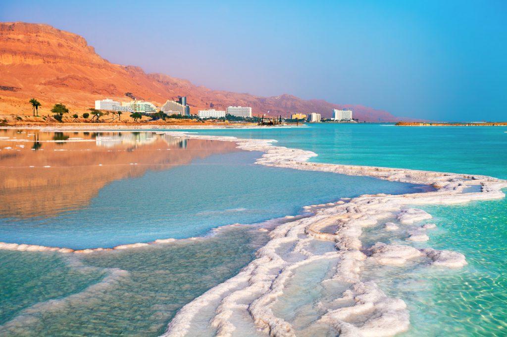 Ein Bokek, Dead Sea, Israel.