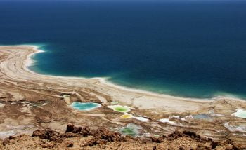A view of the Dead Sea. Deposit Photos