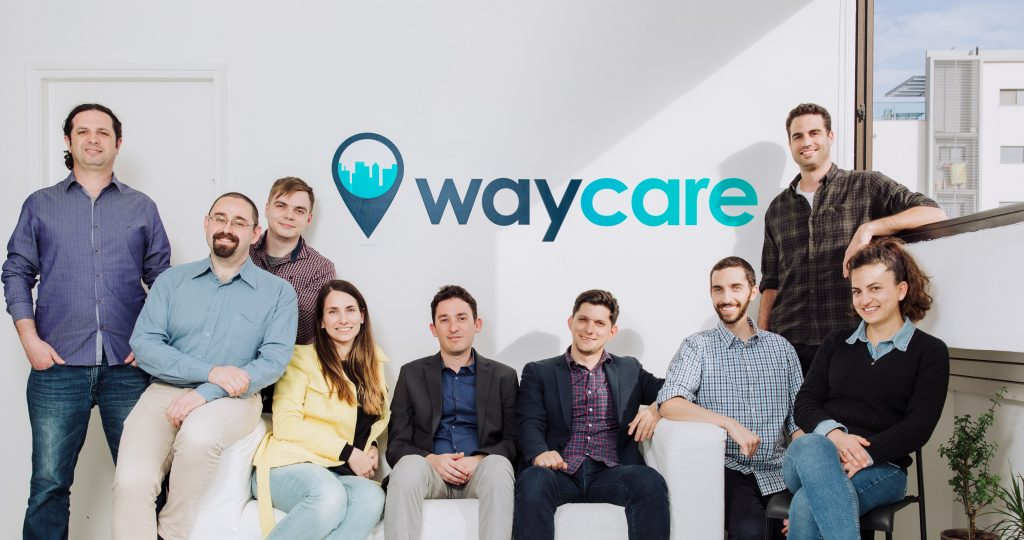 The Waycare team. Photo by Yoav Picherski