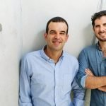 Omri Stern and Michael Rodman, the founders of property tech startup Jones. Courtesy