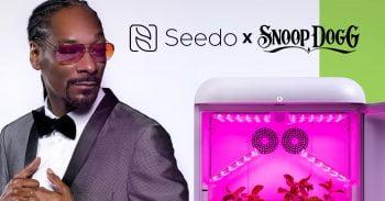 Seedo announced Snoop Dogg as brand ambassador in October 2019. Courtesy
