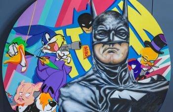 Batman art by Russian-born Israeli artist Edgar Rafael. Courtesy