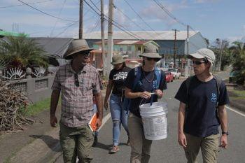 IsraAID in Puerto Rico. Photo by Lior Sperandeo.