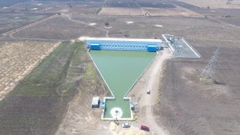 Netafim's irrigation project Ramthal in India. Courtesy