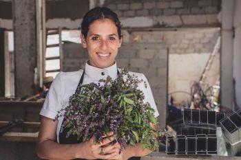 Opa's Chef Shirel Berger. Photo: Lior Sperandeo